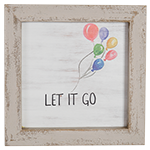 "Wall Art - ""Let It Go"""
