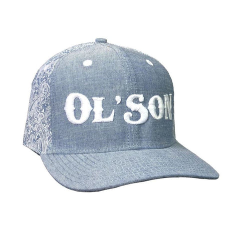 Dale Brisby Ol' Son Light Denim Paisley Cap