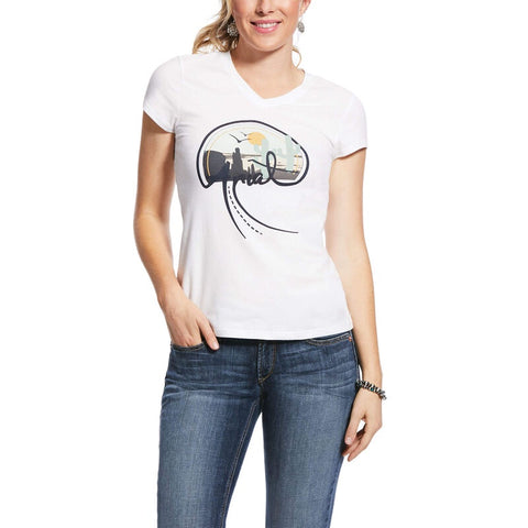 Ariat Womens Real Highway Tee