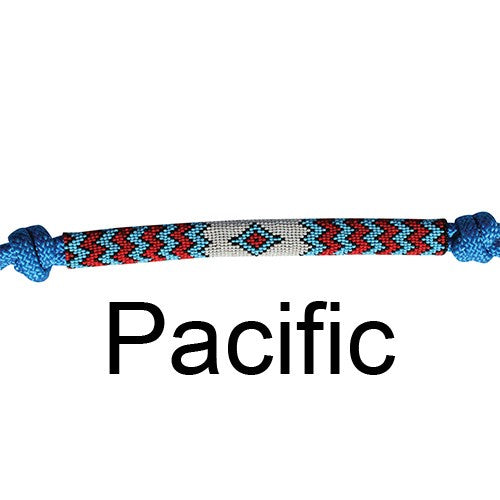 Professionals Choice Rope Halter and Lead - Beaded Nose - Pacific