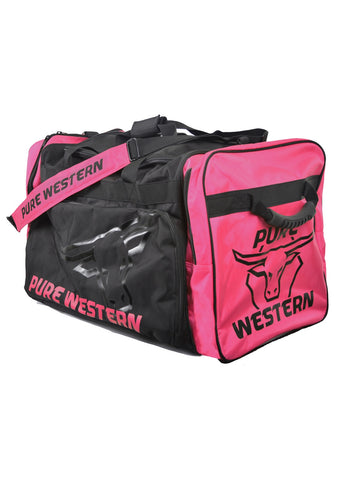 Pure Western Large Gear Bag - Blue and Pink