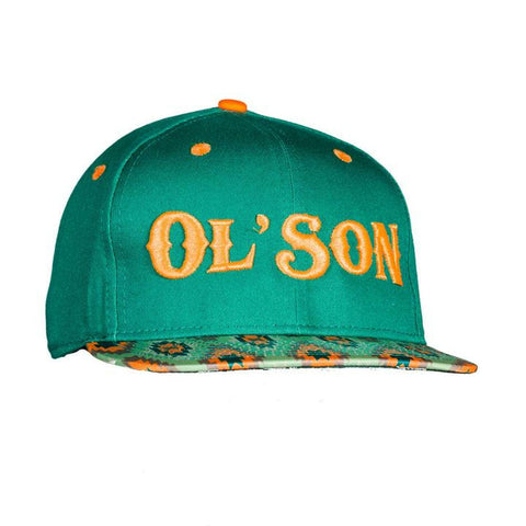 Dale Brisby Ol' Son Green & Orange Aztec Cap
