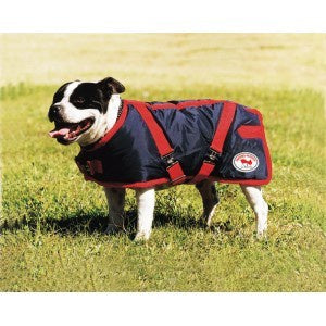 ThermoMaster Supreme Dog Coat - Red/Navy