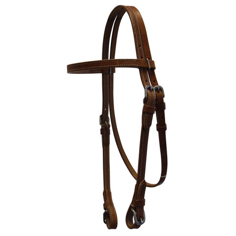 Fort Worth Headstall Harness w/Buckle Bit Ends