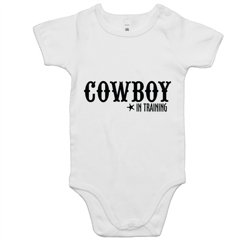 Cowboy in Training Baby Onesie Romper