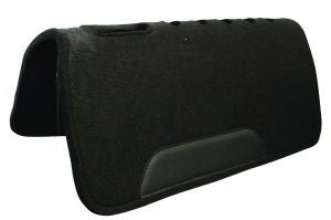Black Wool Felt Pad