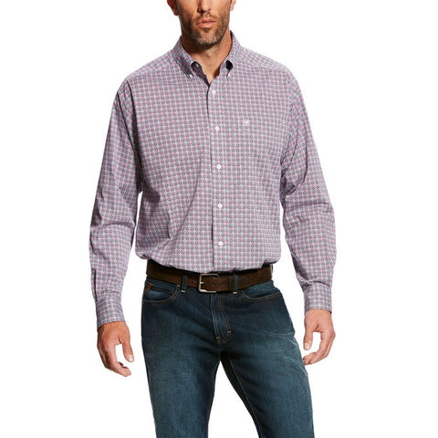 Ariat Mens Stretch Fey Print Shirt