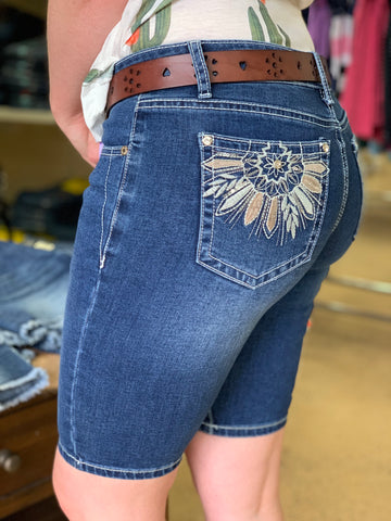 Outback Wild Child Bling Jean Short - Summit