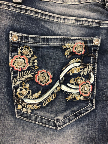 Outback Amelia Bling Jean Shorts