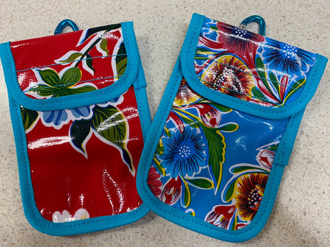 Funky Phone Pouch with Belt Loops & Clip