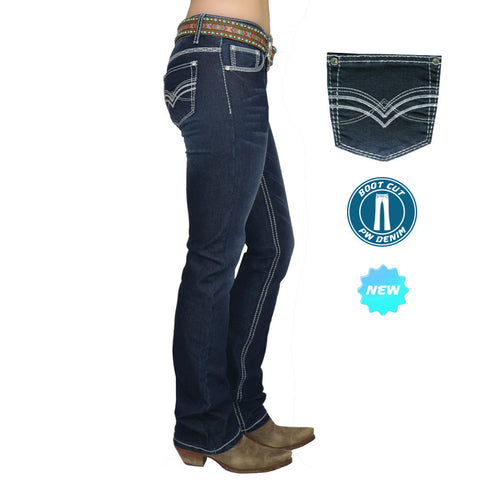 Pure Western Hannah Boot Cut Jeans