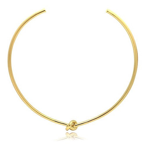 Simple Knot Open Choker