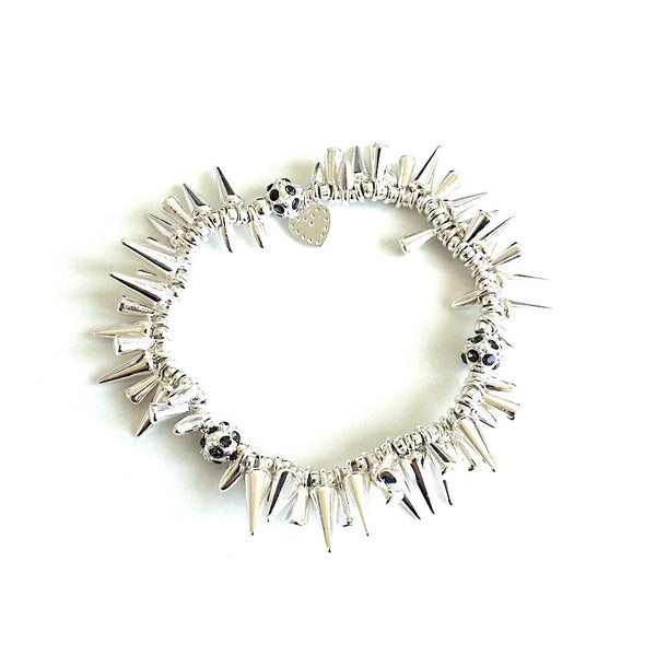 Piper Bracelet Silver - Little Bisous