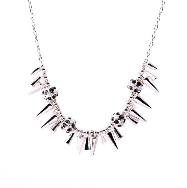 Piper Necklace Silver - Little Bisous