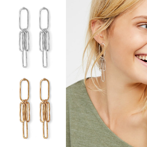 Andrea Vintage Drop Earrings