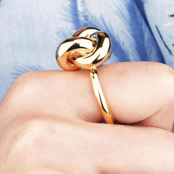 Claire Large Knot Ring