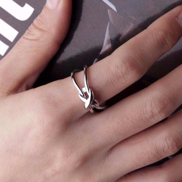 Kate Infinity Knot Ring