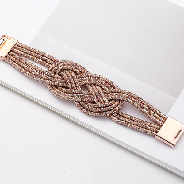 Double Carrick Bend Knot Bracelet