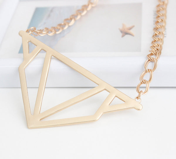 Taylor Necklace Gold - Little Bisous