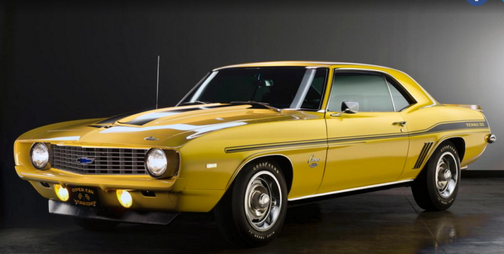 The Top Rarest Muscle Cars of the Late 60's & Early 70's