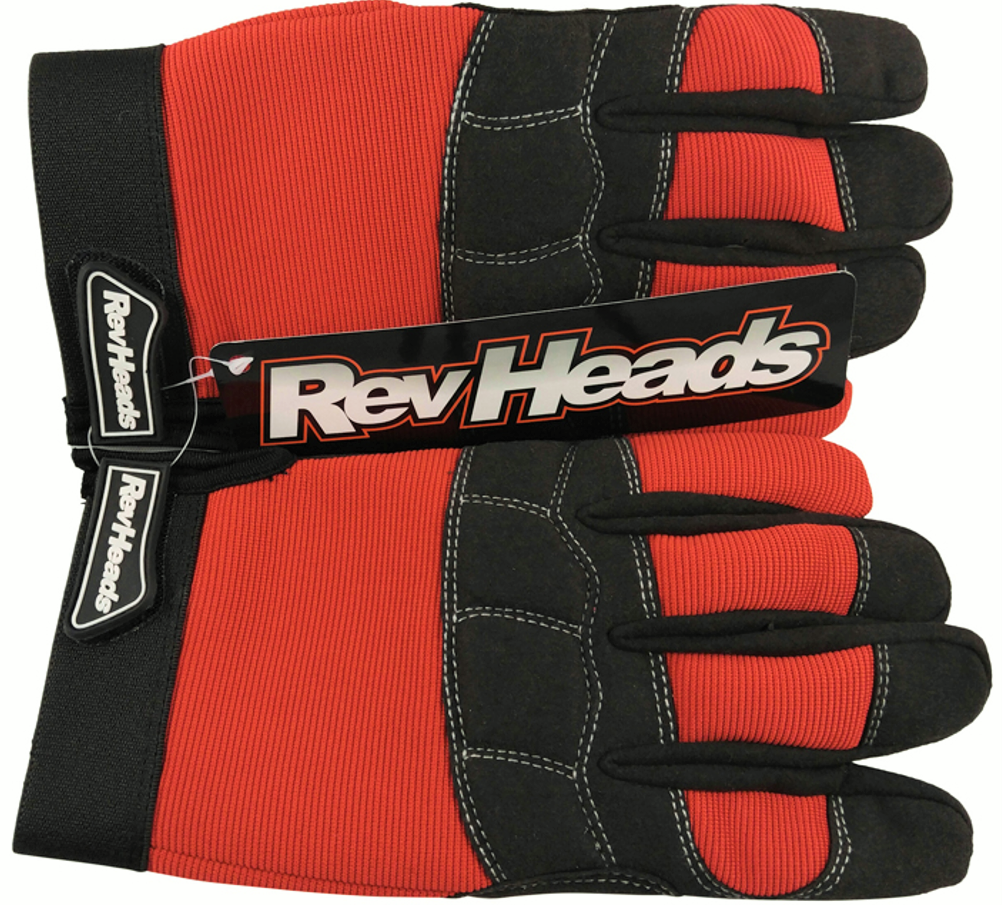 RevHeads Makes A Small Donation of Work Gloves to Plano, Texas Firehouse