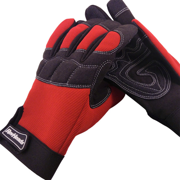 Mechanic Gloves - Safety Gloves Protect Your Hands - Large Size fits Most Men, 1 Pair