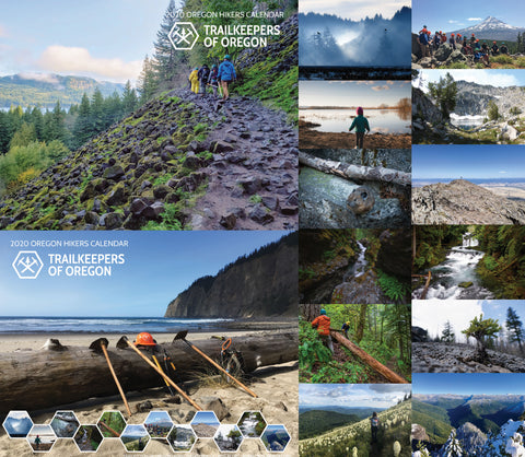 2020 Trailkeepers, Oregon Hikers Calendar