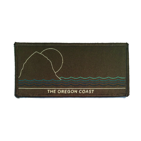 The Oregon Coast, North Coast Iron-on Patch