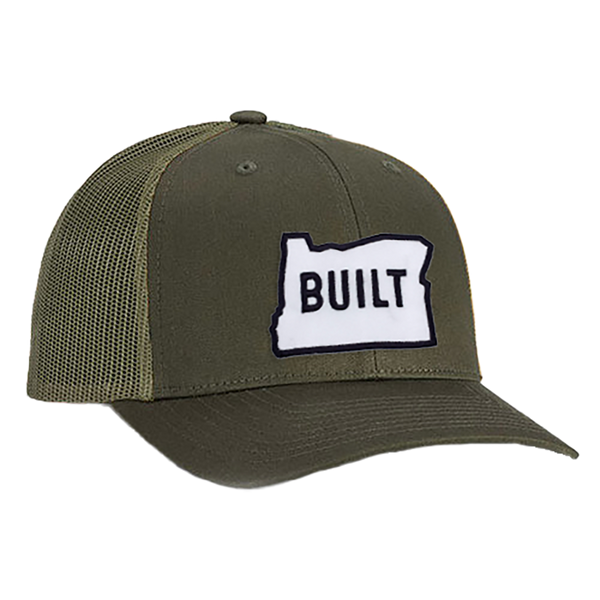 Built Oregon Trucker Hat