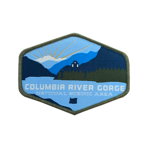 Columbia River Gorge, Iron-on Patch