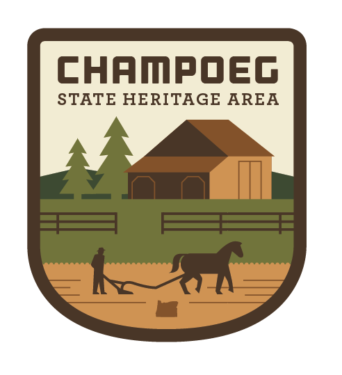 Champoeg State Heritage Area Sticker