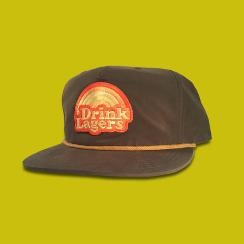 Drink Lagers Snapback Grandpa Hat