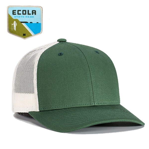 Ecola State Park Customized Trucker Hat