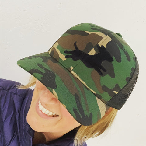 Firecracker Wiener National Camo Hat