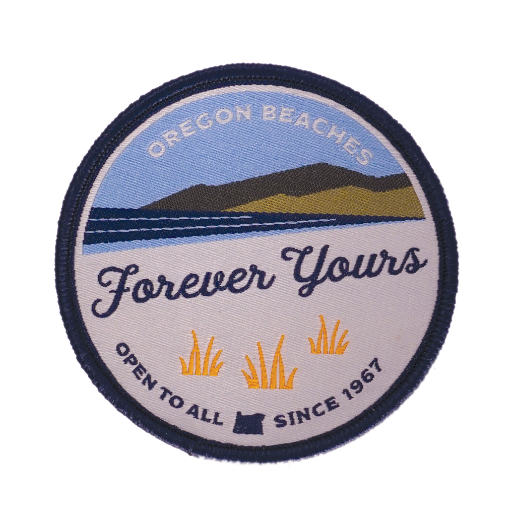 """Forever Yours"" Oregon Beach Bill 50th Anniversary Patch"