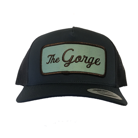 The Gorge, Retro Trucker Snapback Patch Hat