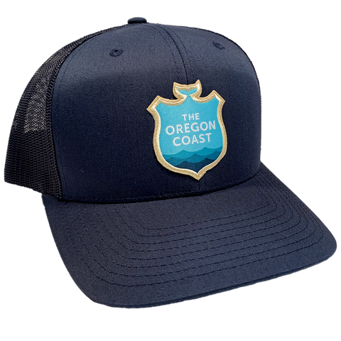 Official Logo Trucker Hat - Navy