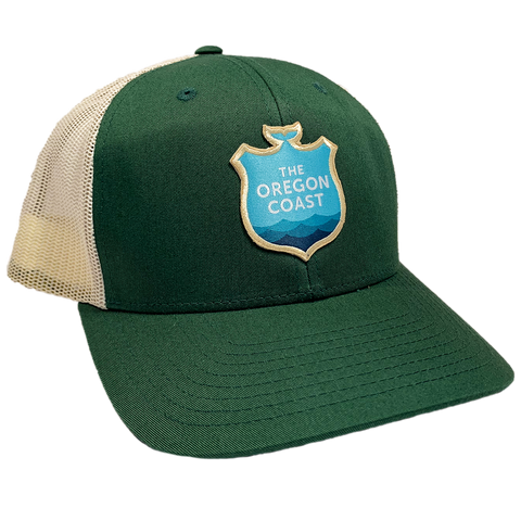 Official Logo Trucker Hat - Green