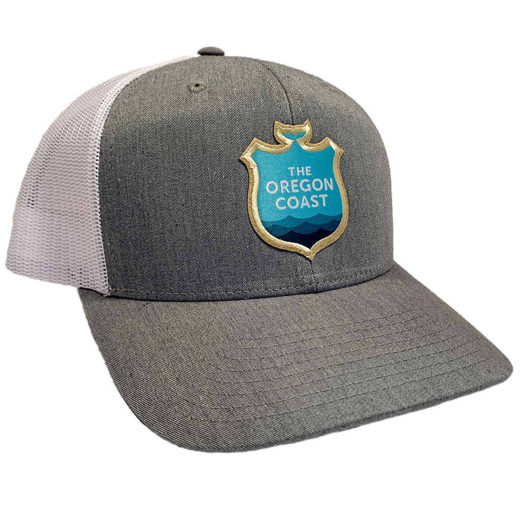 Official Logo Trucker Hat - Heather Grey