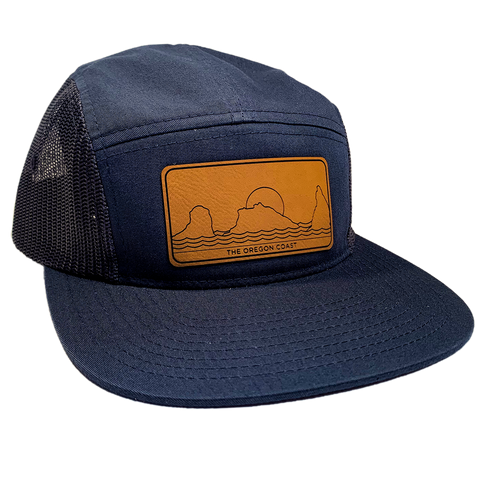 The South Coast 5-Panel Navy - Strapback