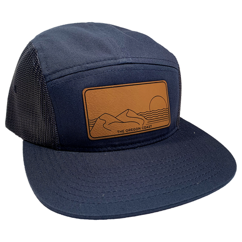 The Central Coast 5-Panel Navy - Strapback
