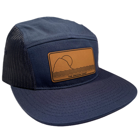 The North Coast 5-Panel Navy - Strapback