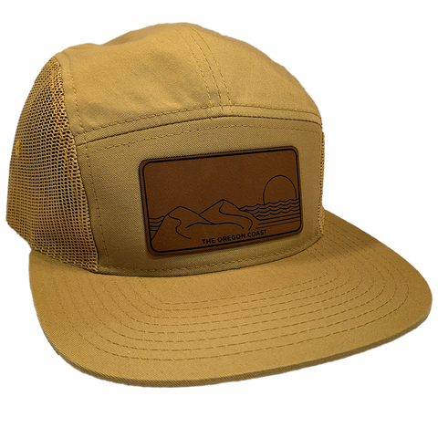 The Central Coast 5-Panel Gold - Strapback