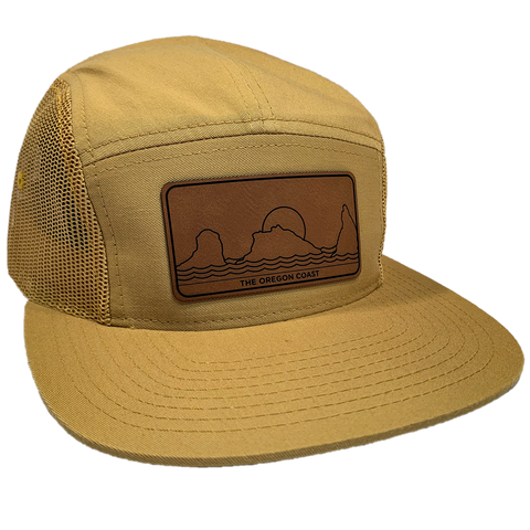 The South Coast 5-Panel Gold - Strapback