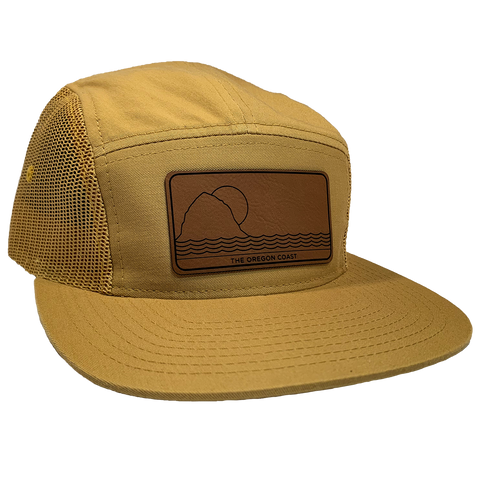 The North Coast 5-Panel Gold - Strapback