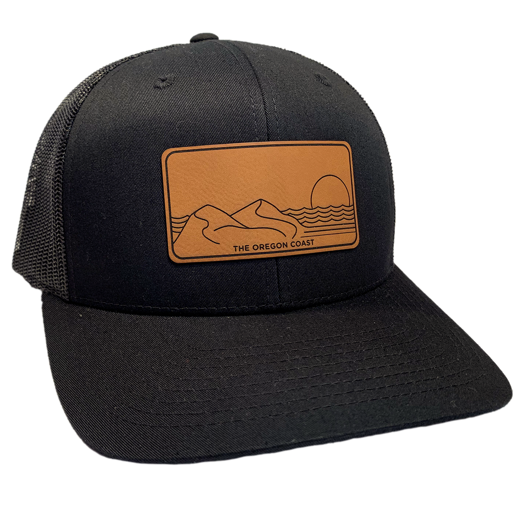 The Central Coast Trucker Hat - Black