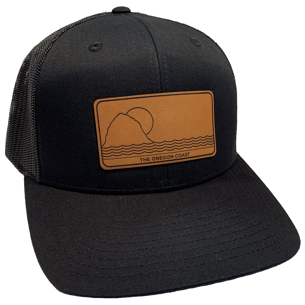 The North Coast Trucker Hat- Black