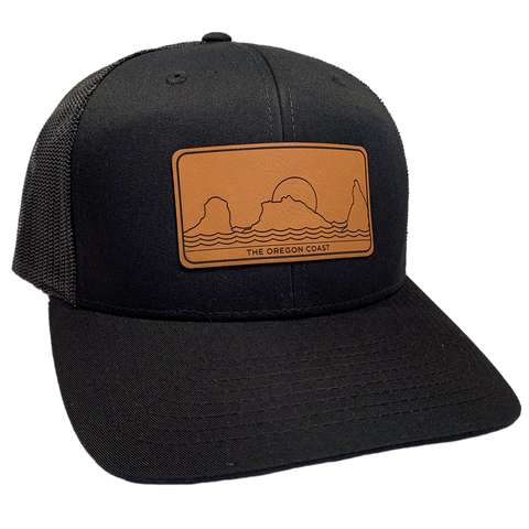 The South Coast Trucker Hat - Black