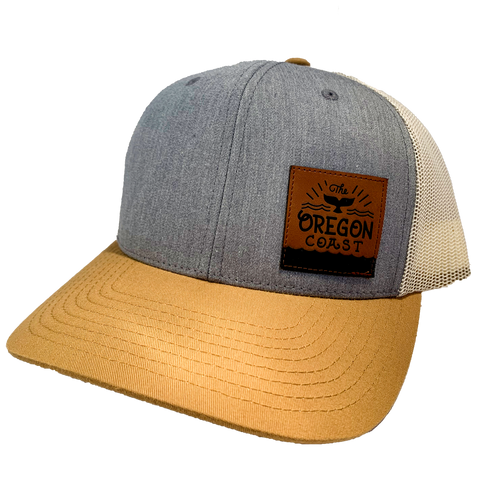 Oregon Coast Whale's Tail Trucker Hat