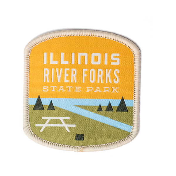 Illinois River Forks State Park Patch